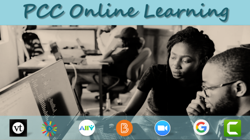 PCC Online Learning Banner